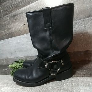 Masterson black riding boots motorcycle 11.5